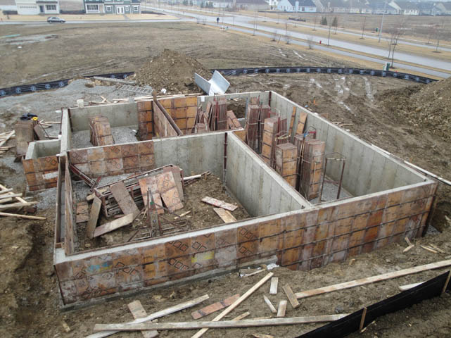Concrete foundation contractors repair construction for Crawl space slab