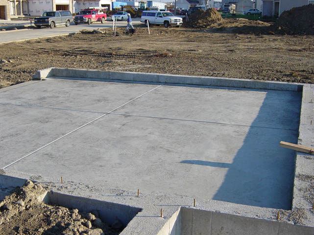 stamped dyed concrete full foundations patios sidewalks driveways